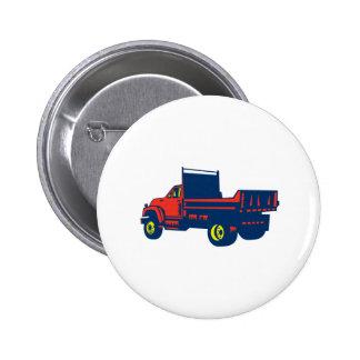 Grabar en madera plano del camión pin redondo 5 cm