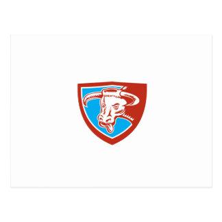 Grabar en madera principal del escudo de Bull del Postal