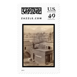 Grabill Mining Exchange & Photography CO 1888 Postage Stamps