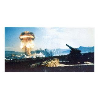 Grable Event Operation Upshot Knothole Atomic Test Customized Photo Card