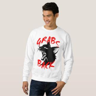 Grabs Back Men's Basic Sweatshirt