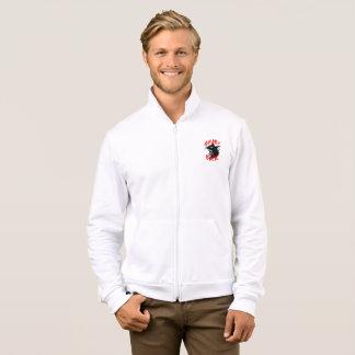 Grabs Back Men's Fleece Zip Jogger Jacket