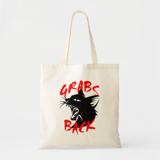 Grabs Back Tote Bag