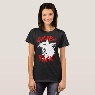 Grabs Back Women's Basic Dark T-Shirt