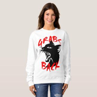 Grabs Back Women's Basic Sweatshirt