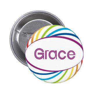 Grace 2 Inch Round Button