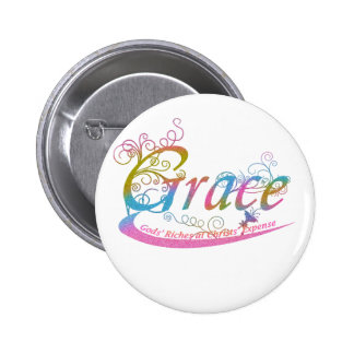 Grace 2 Inch Round Button