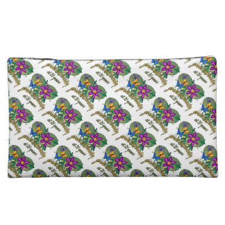 Grace and Beauty at 21 Cosmetic Bag
