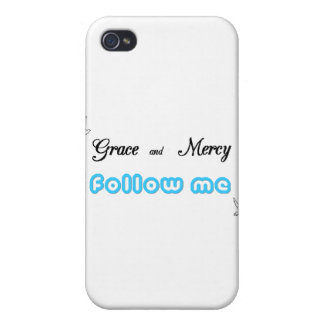 Grace and Mercy 2 Covers For iPhone 4
