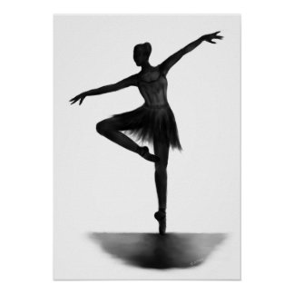 """""""Grace"""" ballerina poster"""