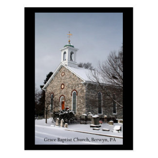 Grace Baptist Church #1 Postcard