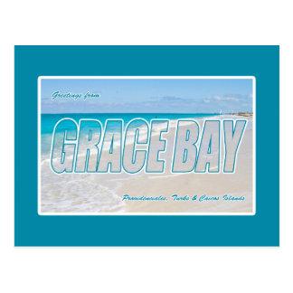 Grace Bay Beach, Turks & Caicos Islands Postcard