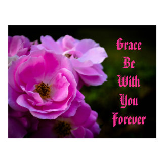 Grace Be With You Forever Postcards