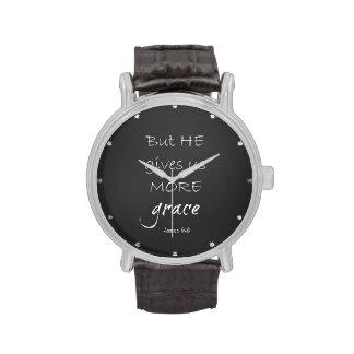 Grace Bible Verse Watches