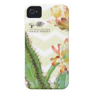 Grace cactus ikat zigzag iPhone 4 Case-Mate case