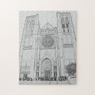 Grace Cathedral Jigsaw Puzzle