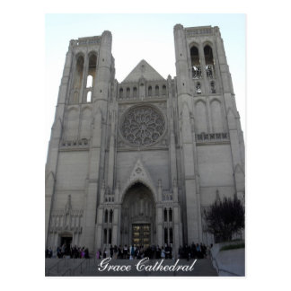 Grace Cathedral Post Card