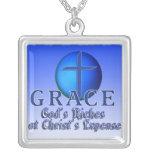 GRACE CHRISTIAN ACRONYM NECKLACE