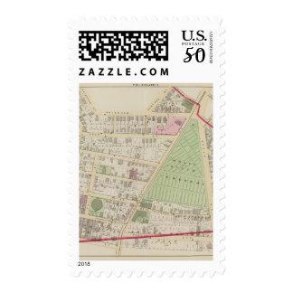 Grace Church Cemetery Atlas Map Postage