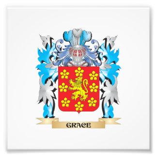 Grace Coat of Arms - Family Crest Art Photo
