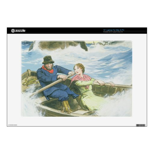 Grace Darling (1815-41) and her father rescuing su Skins For Laptops