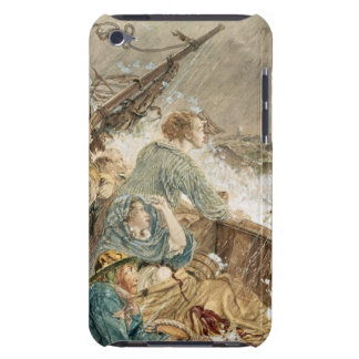 Grace Darling and her father saving the shipwrecke iPod Touch Case