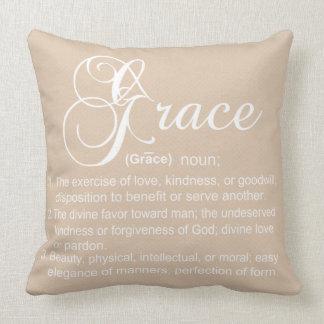 Grace Definition Pillow