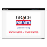 "Grace For Vets 15"" Laptop Decals"