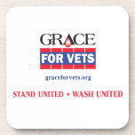 Grace For Vets Beverage Coaster