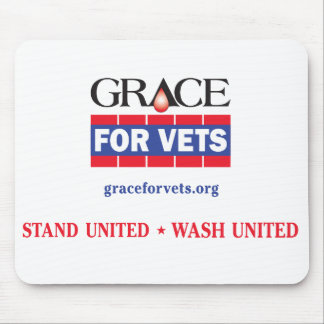 Grace For Vets Mouse Pad