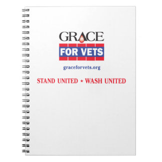 Grace For Vets Notebook