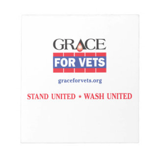 Grace For Vets Notepad