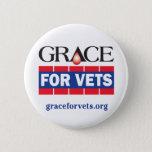 Grace For Vets Pinback Button
