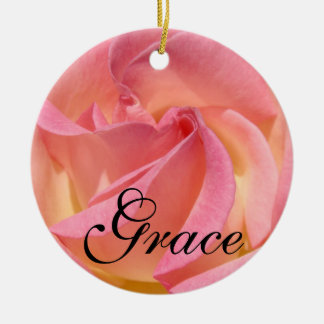 Grace gifts Hanging Ornaments Holidays Personalize