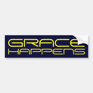 Grace Happens bumper sticker