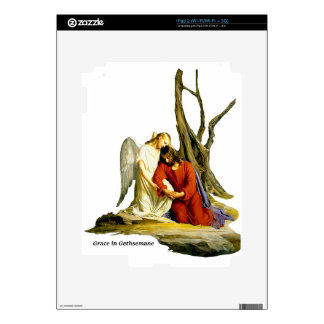 GRACE I N GETHSEMANE iPad 2 DECALS