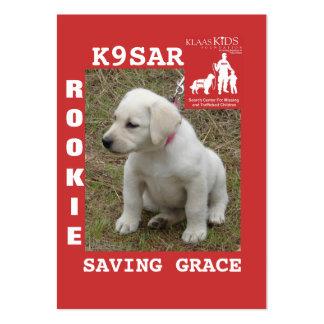 GRACE II, KlassKids Search Team K9 Large Business Cards (Pack Of 100)