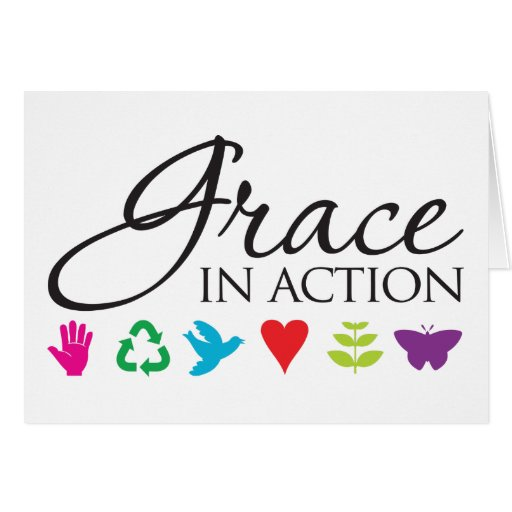 Grace in Action Card