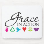 Grace in Action - Customized Mouse Pad