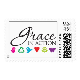Grace in Action Postage Stamp
