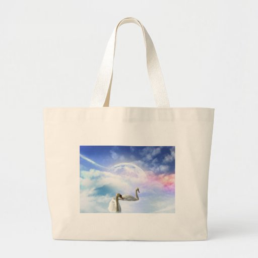 Grace in Space - Swans Swimming Bag