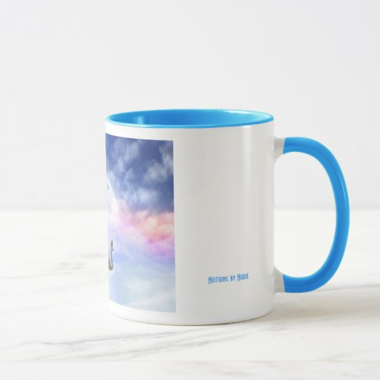 Grace in Space - Swans Swimming Mug