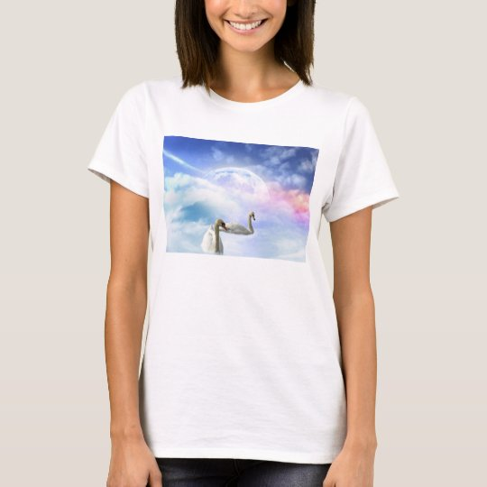 Grace in Space - Swans Swimming T-Shirt