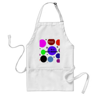 Grace Is a HOT MAMA!!! Adult Apron