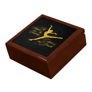 Grace Is My Brush (Dance) Jewelry Box