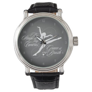 Grace Is My Brush (Dance) Wrist Watch