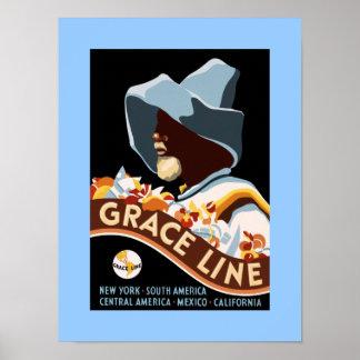 Grace Line Posters