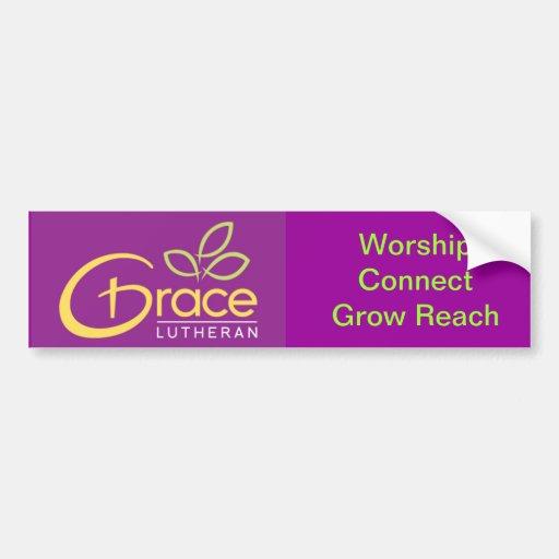 Grace Lutheran Bumper Sticker