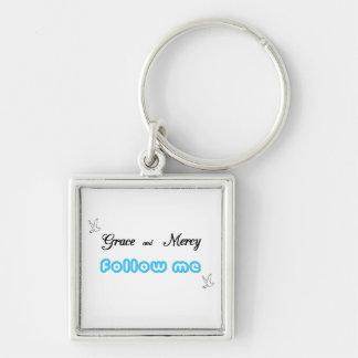 Grace & Mercy Keychain