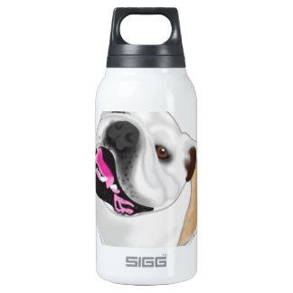 Grace Mertes Bulldog Wyatt Insulated Water Bottle